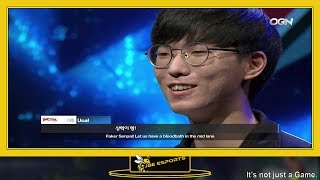 SKT vs KT Trash Talk Spring 2018