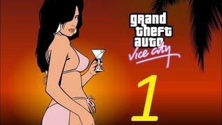 Прохождение GTA Vice City  серия 1 (Ностальгия)