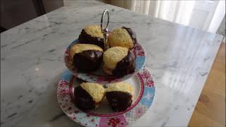 شیرینی نارگیلی پرشده