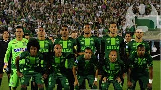 Plane carrying Brazil's Chapecoense football team crashes in Colombia – video report