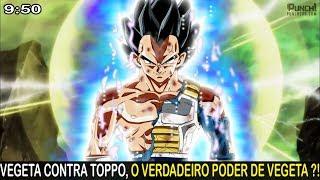 VEGETA CONTRA TOPPO, ele pode SUPERAR O GOKU ?! Dragon ball super ep 112 Análise