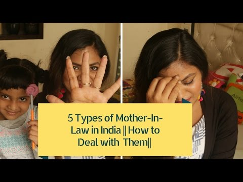 5 Types Of Indian Mother In Laws & How To Deal With Them  Indian mother in law issues 😀👍👌😅