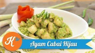 Resep Ayam Cabai Hijau | MICHELLE GABRIELA