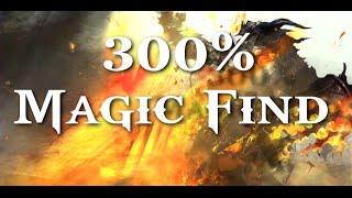 Guild Wars 2 - UP 300% Magic Find!