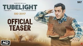 Tubelight | Official Teaser | Salman Khan | Kabir Khan