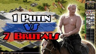 Red Alert 2 - Putin vs 7 Brutals - Outpost Valley