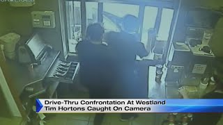Drive-thru confrontation at Westland Tim Hortons caught on camera