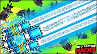 THE MOST POWERFUL ICE SPIKE SENTRY GUN | Bloons TD Battles Hack/Mod (BTD Battles)