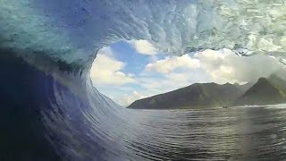 GoPro Perfect Teahupoo Tahiti Barrels with Trevor Sven Carlson - Surf Channel