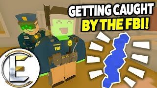 Getting Caught By The FBI - Unturned RP Rags To Riches #3 (They Found My Berry Farm!)