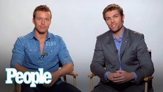Spartacus Hunks Liam McIntyre and Todd Lasance Talk Going Nude | People