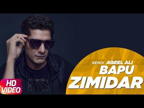 Bapu Zimidar ( Remix ) Aqeel Ali | Jassi Gill | Latest Punjabi Songs | Speed Records