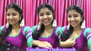 Kovai Sarala Fame Cute Girl Sindhuja Pongal Special Dubsmash | Tamil Girls Dubsmash |