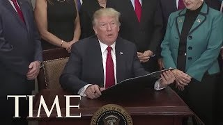 President Donald Trump Signs 'Obamacare Relief' Executive Order | TIME