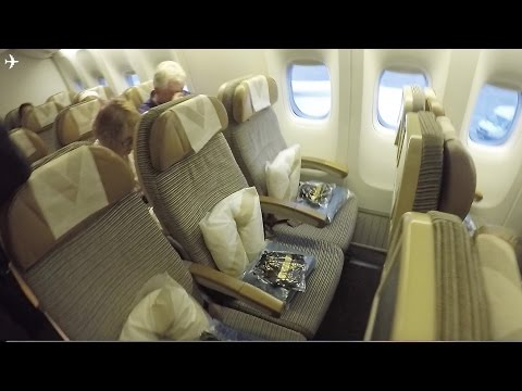 TRIP REPORT Etihad Airways B777 300 Manchester Abu Dhabi Economy