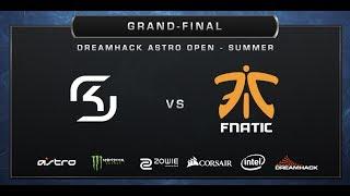 CS:GO - SK-Gaming vs. Fnatic - Overpass - Grand-final - DreamHack ASTRO Open Summer 2017