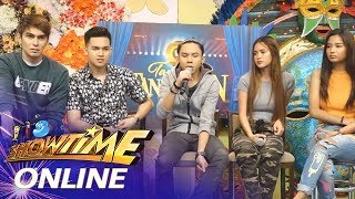 It's Showtime Online: Dan Kristoffer Ferrer shares a song he composed