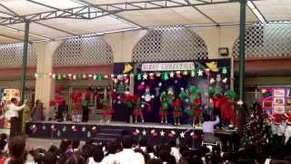 Ashmit's KG2 christmas assembly dance.. 2011 at ISM...