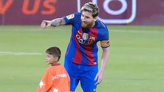 Lionel Messi Vs Cristiano Ronaldo • Respect Moments