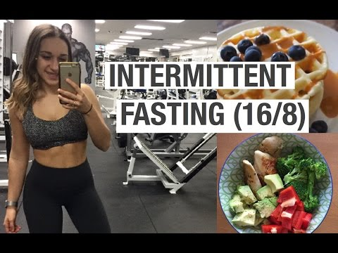 INTERMITTENT FASTING 16 8 | Full day of eating with MACROS