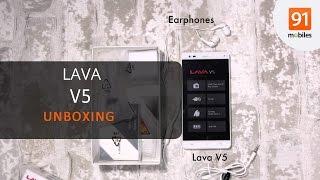 Lava V5: Unboxing [Quick]
