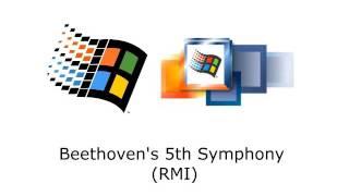 Microsoft Windows - Beethoven's 5th Symphony (RMI)