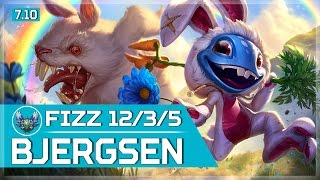 465. Bjergsen Fizz vs Xayah Mid - May 19th, 2017 - Patch 7.10 Season 7