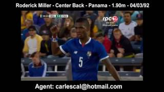 RODERICK MILLER - Panama vs. Brazil - 30 May 2016