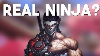WHEN GENJI BEING THE REAL NINJA - Overwatch Funny Moments Ep 8