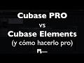 Cubase PRO vs Cubase Elements (y cómo conseguir algunas herramientas del PRO)