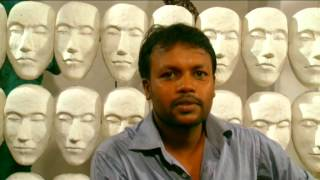 Chamila Gamage inteview with Rupavahini Wasuliya  - Monologue Exhibition of visual arts 2013