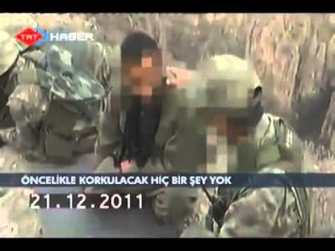 Komutan ve Terörist Arasında Geçen Konuşma.