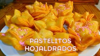 PASTELITOS dulces  HOJALDRE FÁCIL deliciosos