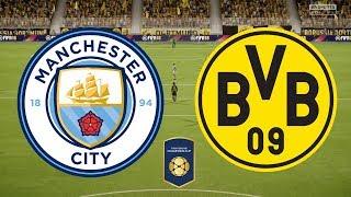 International Champions Cup 2018 - Manchester City Vs Borussia Dortmund - 21/07/18 - FIFA 18