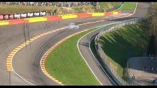 Stefan Mücke's big crash, FIA WEC 2016 at Spa Francorchamps 6h