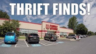 THRIFT STORE Treasure Hunting - Live w/ Hauls and Finds!