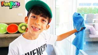 Jason Cleans the House, Funny Kids video!