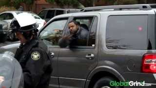 Ice Cube Starts A Drive By Snap War With Kevin Hart On Set Of Ride Along