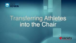 Racing Wheelchair Athlete Transfer