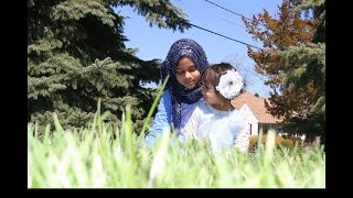A beautiful Duet Nasheed by Maryam and baby Fatima