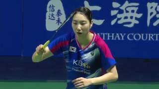 Thaihot China Open 2016 | Badminton SF M5-WS | Pusarla V. Sindhu vs Sung Ji Hyun
