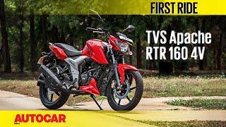 TVS Apache RTR 160 4V | First Ride | Autocar India