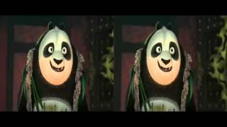 Kung Fu Panda 3   Official Trailor 3D(cross view)
