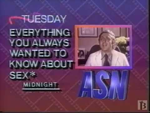 ASN Promo - Everything You Always Wanted to Know About Sex 1991