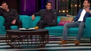 Salman Khan Reveals The 'Dirtiest' Secret Of His Life On Karan Johar's Koffee With Karan   SpotboyE