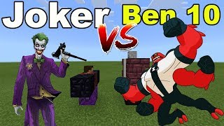 JOKER vs BEN 10 | Minecraft PE
