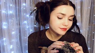 Binaural ASMR Whispering you to Sleep•Ear to Ear Attention•Soft Mic Touching•💤
