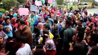 """المزيد  1 من 1   بالفيديو...طالبات تمريض امبابة يتظاهرن داخل معهد ناصر لالغاء قرار 820"""""""