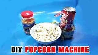 How to make PopCorn Machine from Glow Plug