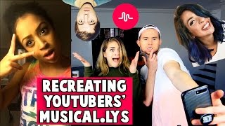 RECREATING YOUTUBERS' MUSICAL.LYs w/ Baby Ariel